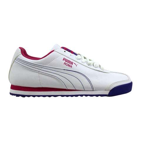 Puma Roma Basic White/Cabaret-Blue 353573 10