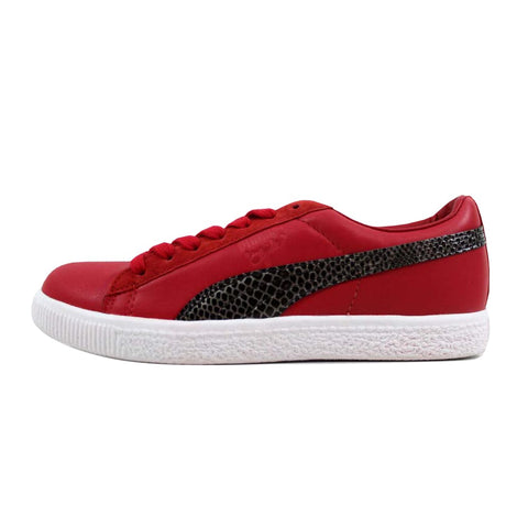 Puma Clyde X Undftd Snakeskin Ribbon Red 353917-02 Men's