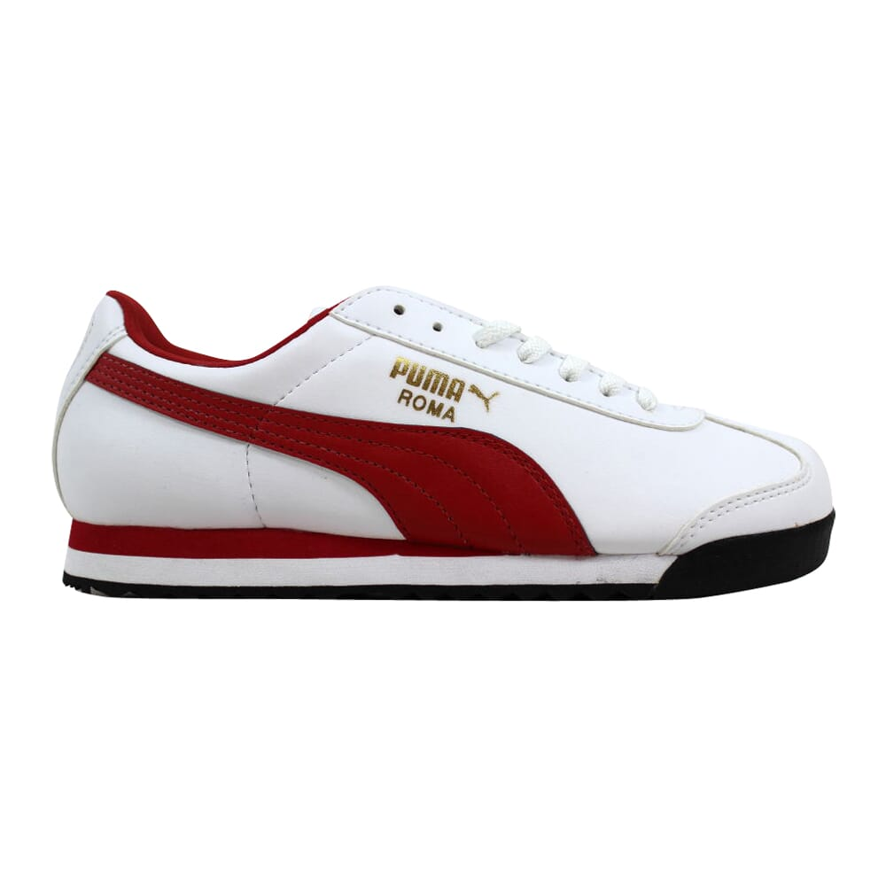 Puma Roma Basic Jr White/Red-Gold 354259 04 Grade-School