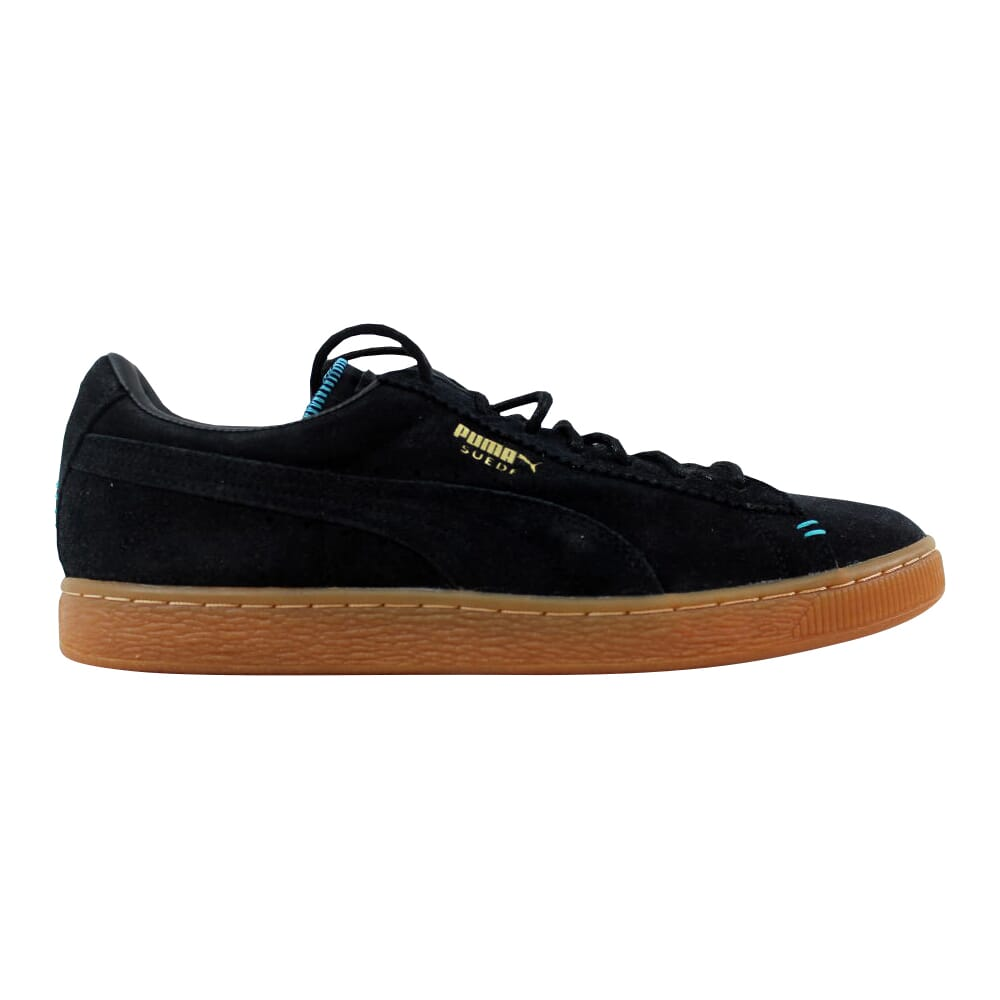 Puma Suede Classic Crafted Black/Bluebird 356172-03 Men's