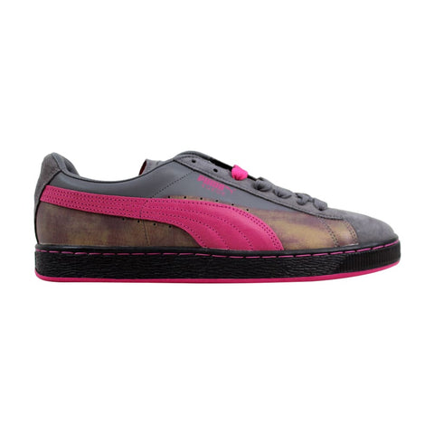 Puma Suede Classic Colorburn Steel Gray/Beetroot Purple 357104-03 Men's