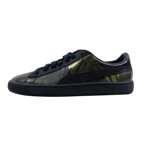 Puma Basket X HOH Palm Total Eclipse/Green 358470-01 Men's