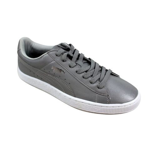 Puma Basket Reflective Silver Metallic/Black  358637-01 Men's