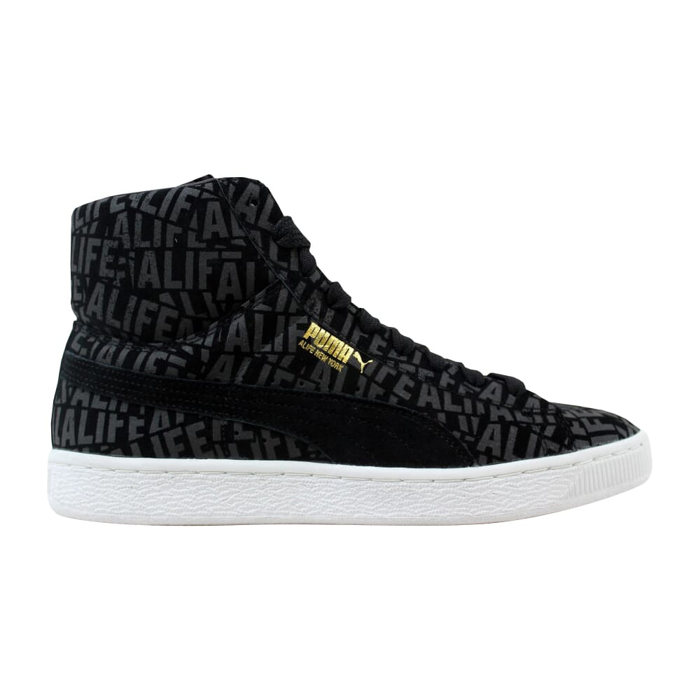 Puma Suede Mid X Stuck Black Alife 358866-01 Men's