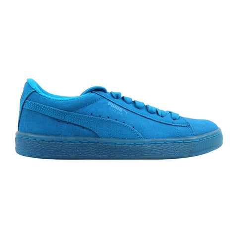 Puma Suede Iced Fluo Jr Atomic Blue/White  361936-02 Grade-School