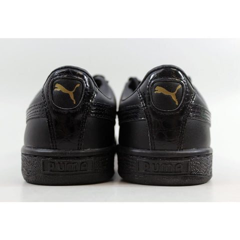 Puma Basket Classic Animal Croc Puma Black 362283-02 Men's