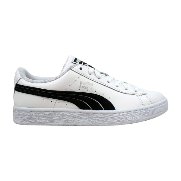 Puma Basket Classic Badge White/Black 362550 01 Men's