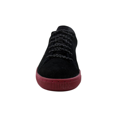 Puma Suede Classic Weatherproof Puma Black-Tibetan Red  363871-01 Men's