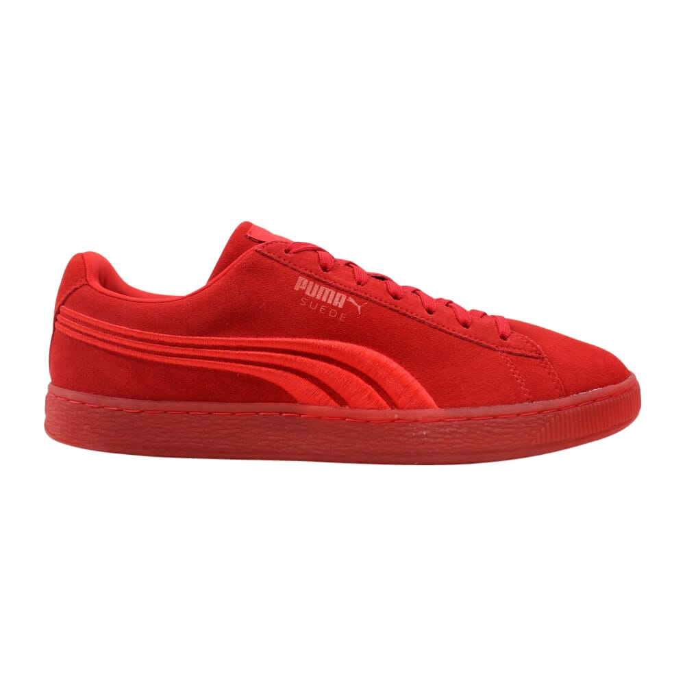 Puma Suede Classic Badge Iced High Risk Red  364483-01 Men's