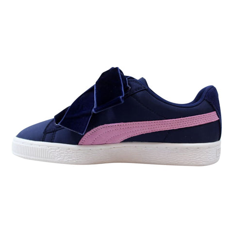 Puma Basket Heart Nylon Blue Depths/Smoky Grape  364954-01 Women's