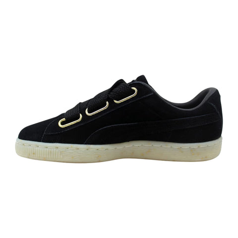 Puma Suede Heart Celebrate Puma Black  365561-01 Women's