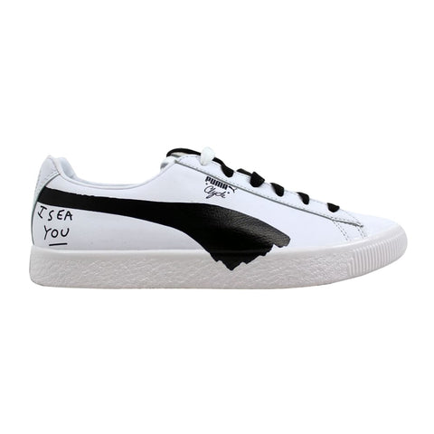 Puma Clyde SM Puma White/Puma Black  365894-01 Men's