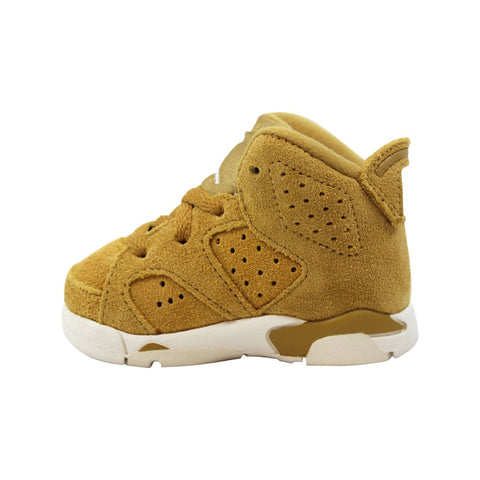 Nike Air Jordan 6 Retro Golden Harvest  384667-705 Toddler