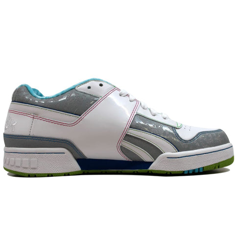 Reebok Pro Legacy RBC White/Silver-Red-Blue 4-321493 Men's