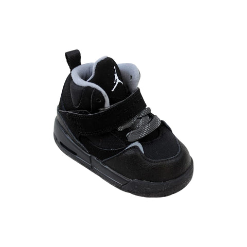 Nike Air Jordan Flight 45 TRK TD Black/White-Anthracite-Stealth  467931-003 Toddler