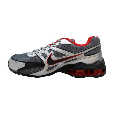 Nike Reax Run Dominate Cool Grey/Black-Metallic Silver-Sprint Red  469687-006 Grade-School