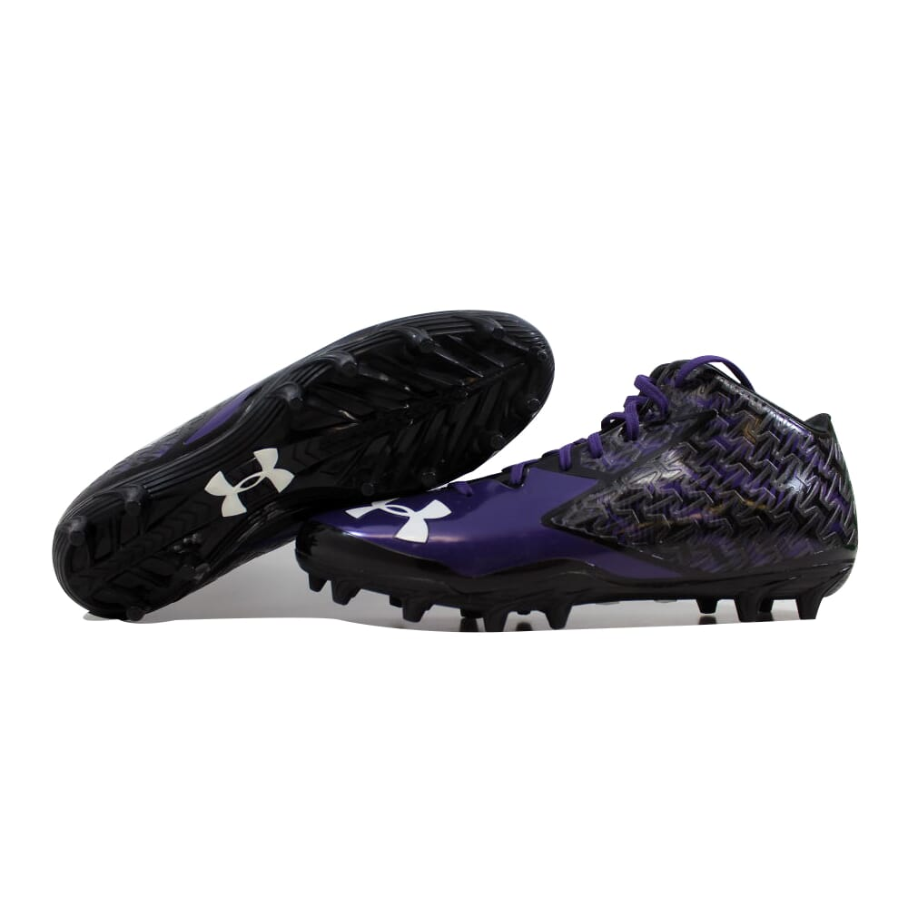 Under Armour Clutchfit Black/Purple 1270439-056 Men's