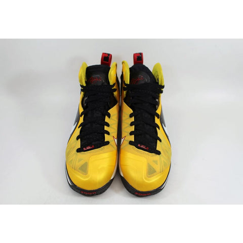 Nike Air Max Lebron IX 9 PS ELite Varsity Maize/White-Black-Sport Red 516958-700 Men's
