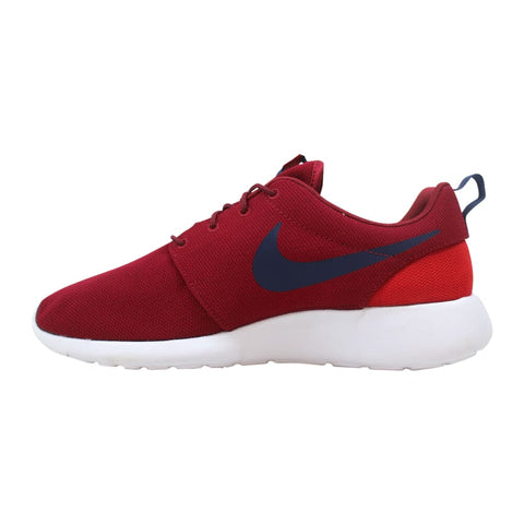 Nike Roshe One Red Crush/Midnight Navy  511881-609 Men's