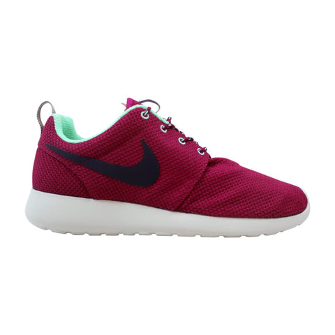 Nike Rosherun Raspberry Red/Purple Dynasty-Green Glow  511882-606 Women's