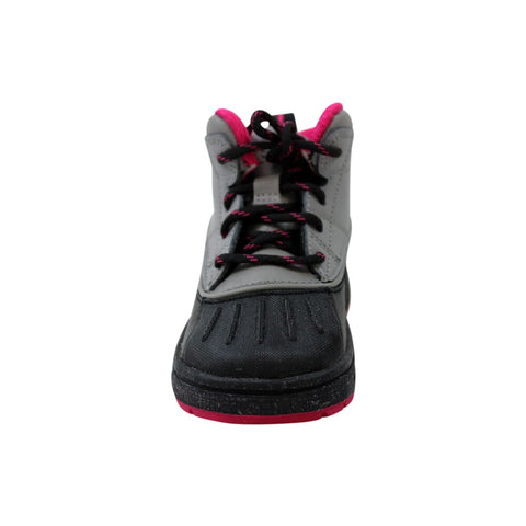 Nike Woodside 2 High Light Charcoal/Light Charcoal-Fireberry  524878-003 Toddler
