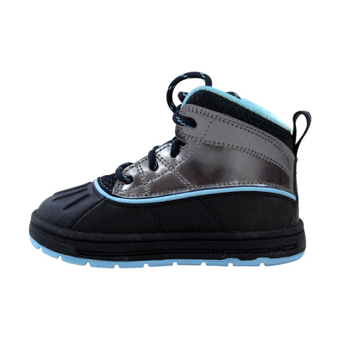 Nike Woodside 2 High Dark Obsidian/Metallic Dark Grey-Blue Chill  524878-400 Toddler