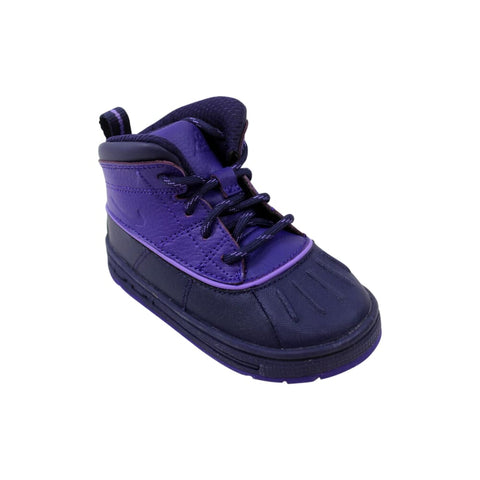 Nike Woodside 2 High TD Imperial Purple/Imperipal Purple-Court Purple  524878-500 Toddler