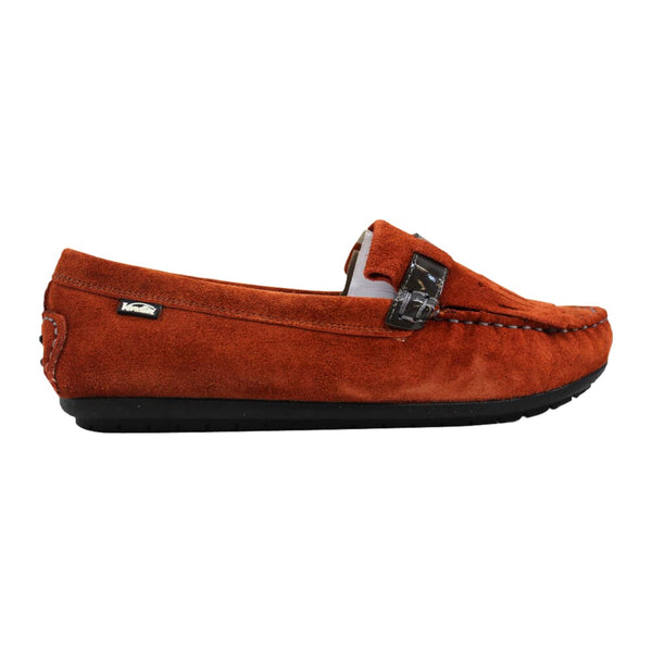 Venettini Elicia Moccasin Orange Suede 55-Elicia