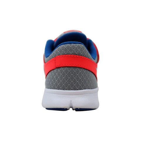 Nike Flex Experience Wolf Grey/Military Blue-Laser Crimson  599341-010 Pre-School