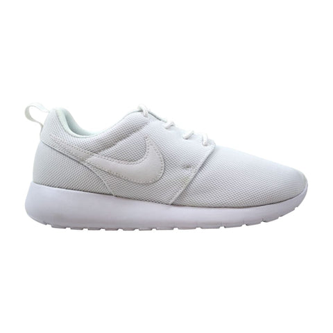 Nike Roshe One White/White-Wolf Grey  599729-102 Grade-School