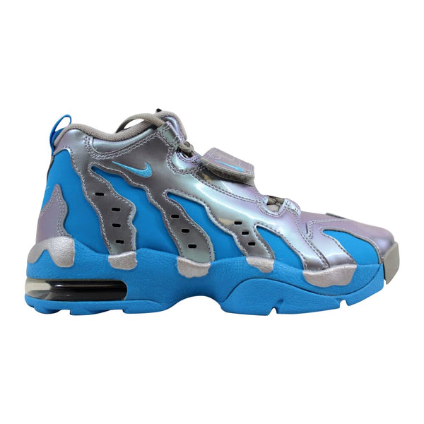 Nike Air DT Max '96 Metallic Silver/Vivid Blue-Black 616502-004 Grade-School