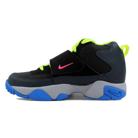 Nike Air Mission Black/Hyper Pink-Dark Magnet Grey-Photo Blue 630911-008 Grade-School