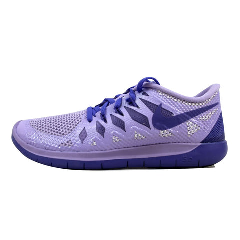 Nike Free 5.0 Hydrangeas/Light Magenta-White-Purple Haze 644446-501 Grade-School