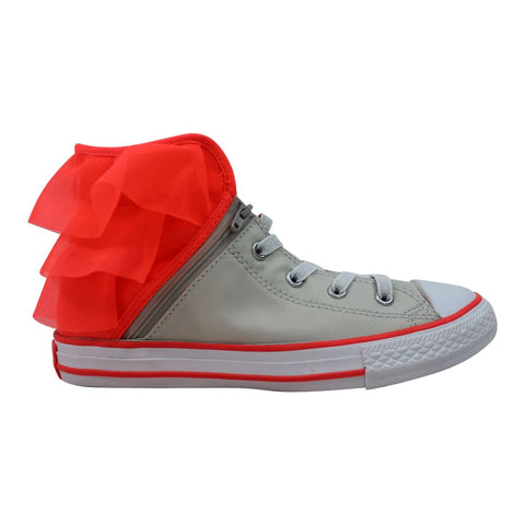 Converse Chuck Taylor All Star Block Party Hi Pure Silver/Hot Punch-White  658060F Pre-School