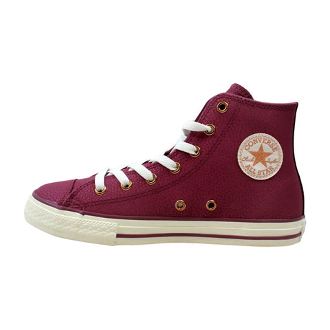 Converse Chuck Taylor All Star Hi Vintage Wine/Egret-Rose Gold  660019C Grade-School
