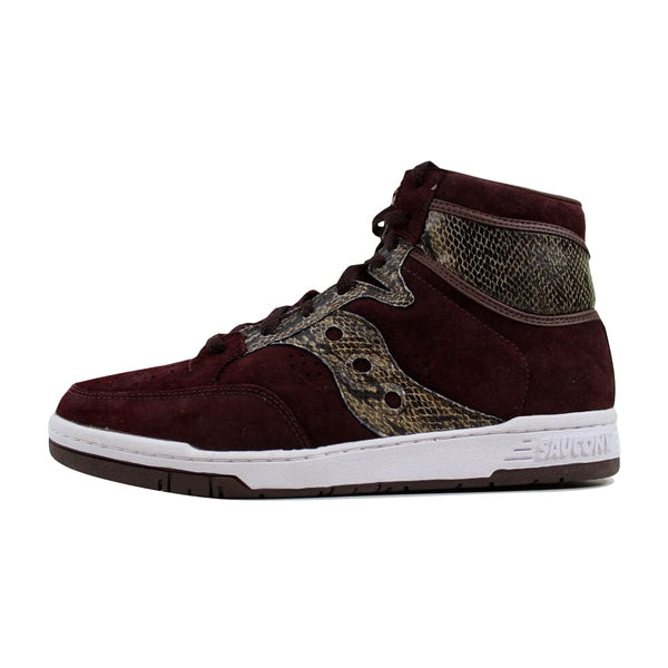 Saucony Hangtime Hi Brown Packer Shoes 70127-3 Men's