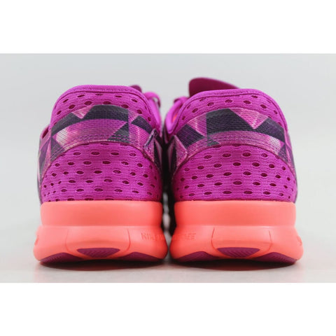 Nike Free 5.0 TR FIT 5 PRT Fuchsia Flash/Hot Lava-Fuchsia Glow-White 704695-501 Women's