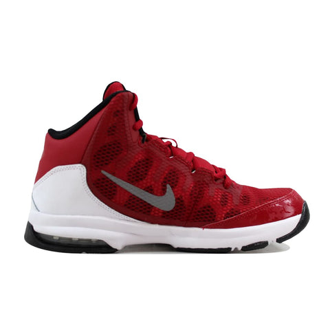 Nike Air Without A Doubt Gym Red/Metallic Silver-White-Black 759982-600 Grade-School