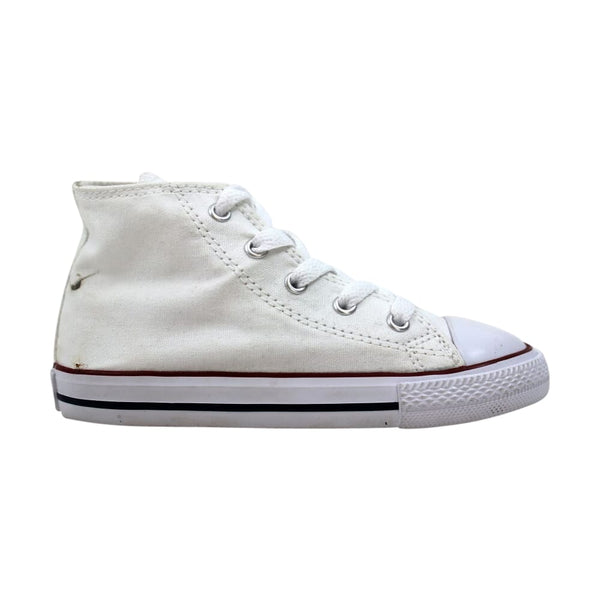 Nike INF Chuck Taylor All Star Hi Optical White  7J253 Toddler