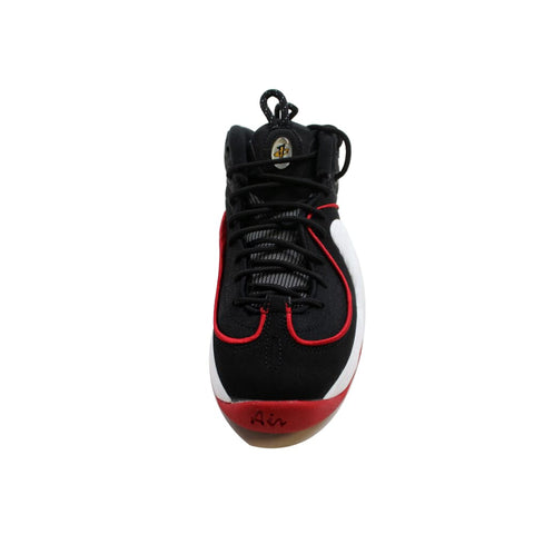 Nike Air Penny II 2 Black/White-University Red Miami Heat 820249-002 Grade-School