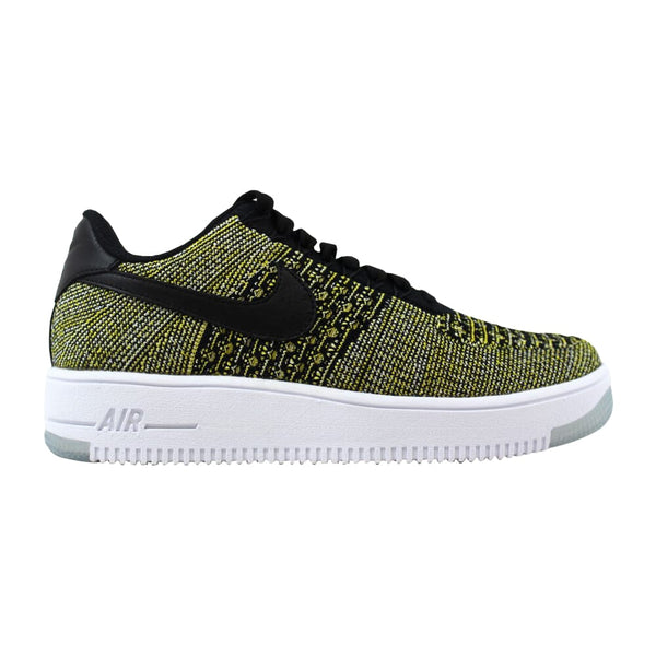 Nike AF1 Flyknit Low Black/Black-Blue Tint-Game Royal  820256-004 Women's