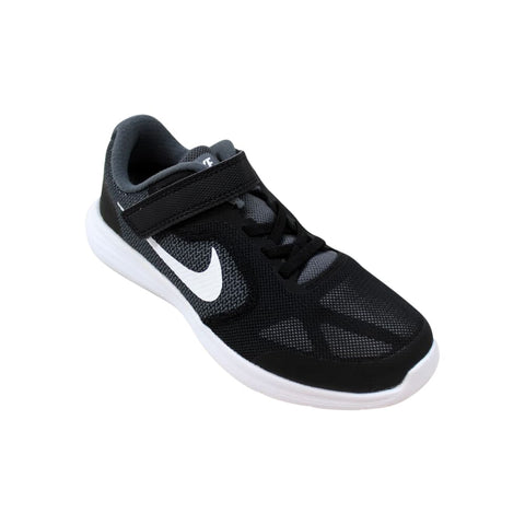 Nike Revolution 3 Wide Dark Grey/White-Black  820568-001 Pre-School