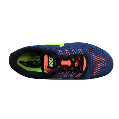 Nike Free RN Purple Dynasty/Volt-Black 831509-501 Women's