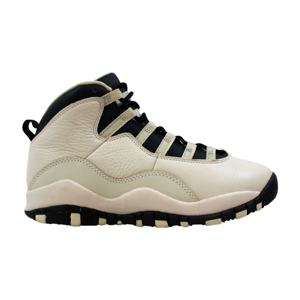 Nike Air Jordan X 10 Retro Premium GG Pearl White/Black-Black Heiress 832645-207 Grade-School