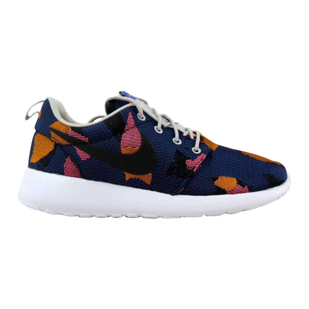 Nike Roshe One JCRD Print Game Royal/Black-Sail-Light Iron Ore 845009-400 Women's