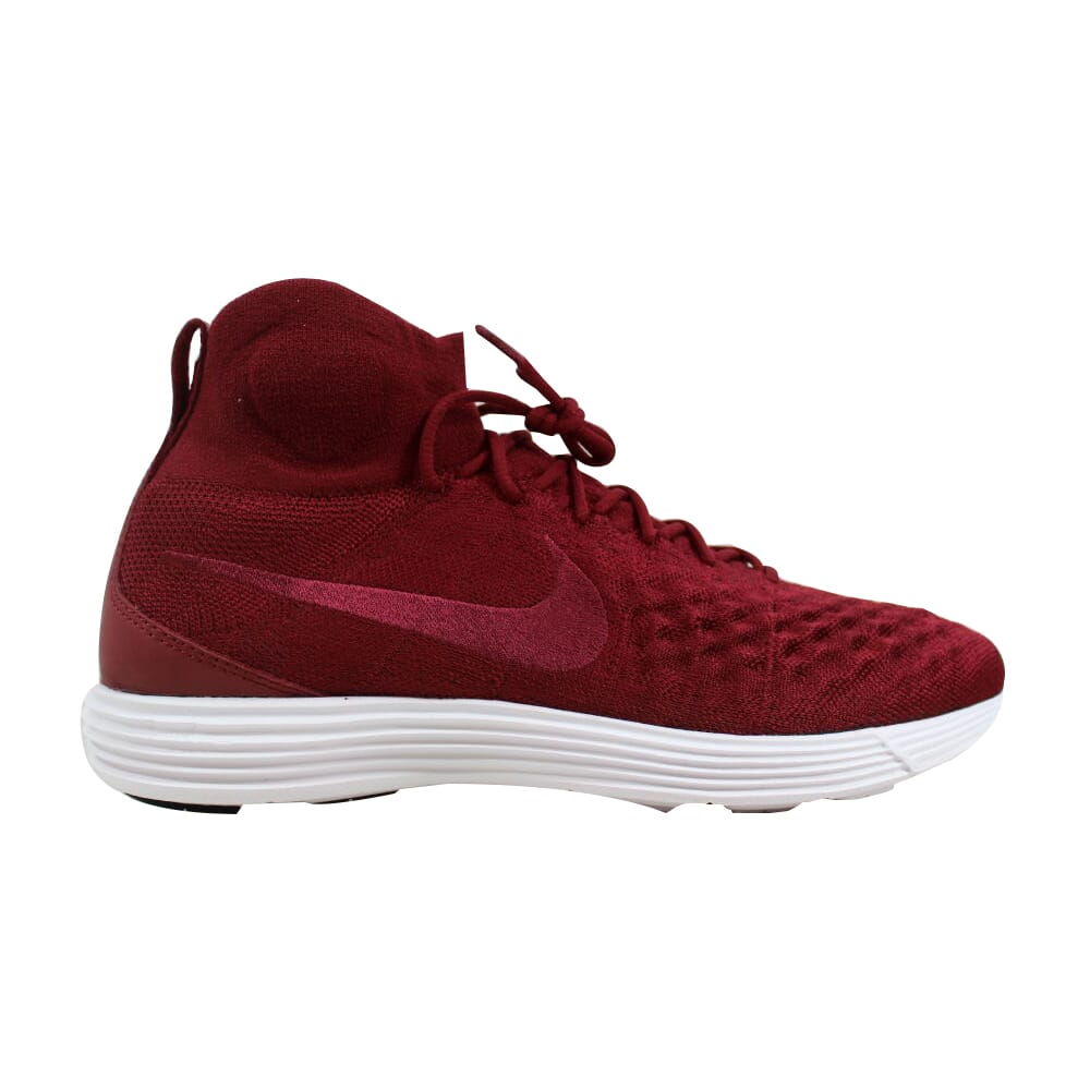 Nike Lunar Magista II 2 Flyknit Team Red/Team Red 852614-600 Men's