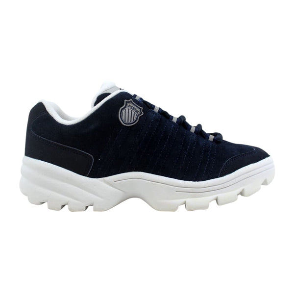 K Swiss Altezo Suede Navy/White-Platinum 8738401 Grade-School