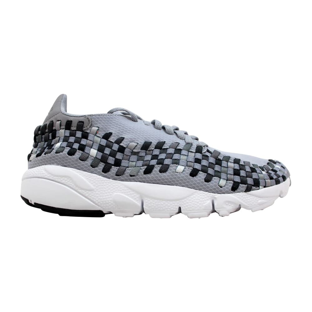 Nike Air Footscape Woven NM Wolf Grey/Black-Dark Grey 875797-004 Men's