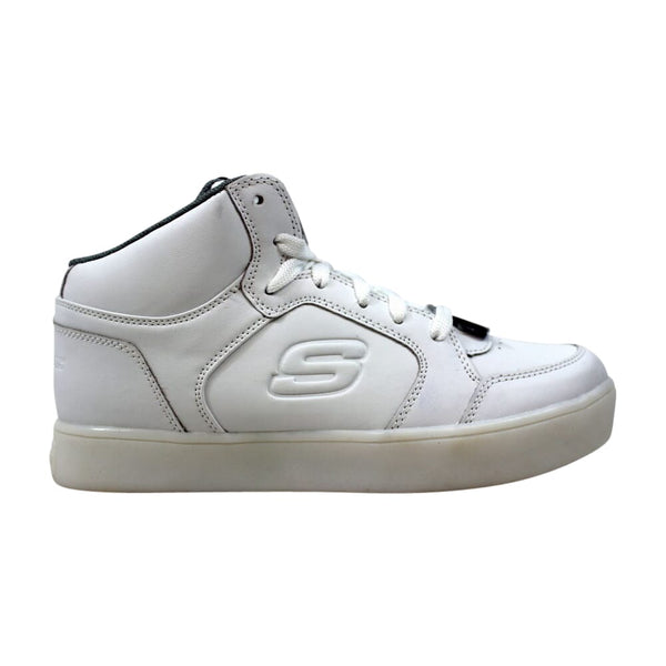 Skechers Energy Lights White 90600L/WHT Grade-School