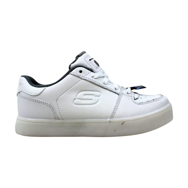 Skechers S Lights Energy Lights Elate Black  90601L/WHT Pre-School